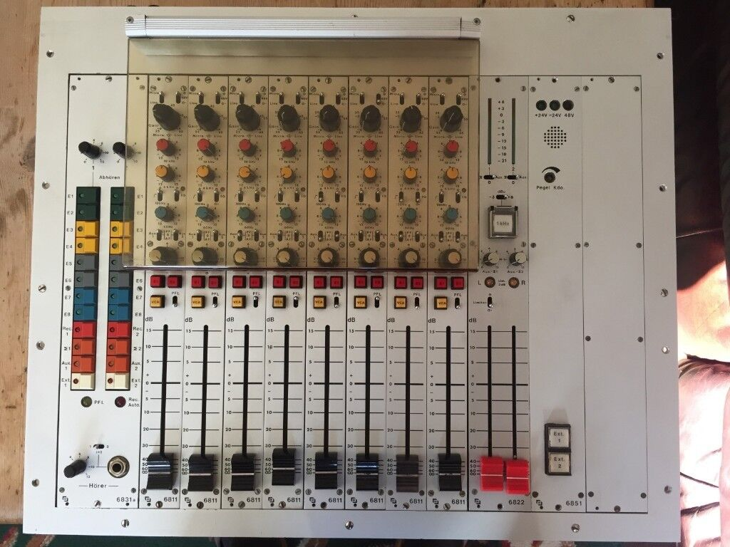 Semrau Eb 068 Rare German Broadcast Modular Mixer Studer Neumann Wiring Jobs London Sound
