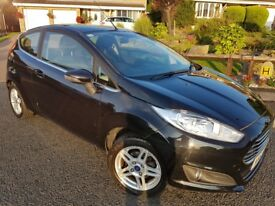 Ford Fiesta 1.25 Zetec 3dr in Panther Black, *** ONLY 30000 MILES *** MOT until 21st August 2019
