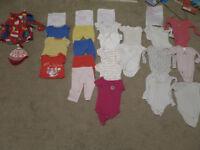 Bundle / Joblot of Baby clothes 6 - 9 months - 25 Items
