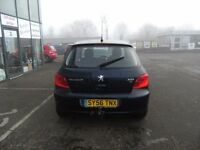 2006 56 PEUGEOT 307 1.6 S HDI 5D 89 BHP **** GUARANTEED FINANCE **** PART EX WELCOME ****