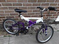 20in wheel size bike