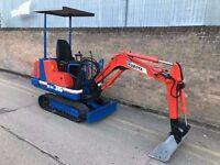 Mini Digger - Kubota - £4,750 ono