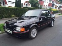 1990 Ford Escort xr3i Black Cabriolet - HUGE History - RS Cosworth Turbo Kit Investment