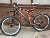 Specialized Fsr carbon fibre bike
