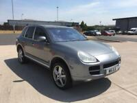 porschs cayenne s 4.5 petrol auto triptronic 2004 53 plate sat nav leather seats heated seats