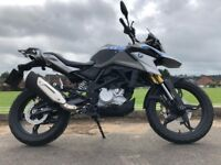 BMW G310 GS AS NEW -2018 -BMW WARRANTY-700 MILES FINANCE AVAILABLE ETC £3899 RRT £5000 NEW