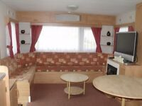 6 BERTH STATIC CARAVAN ON PARK RESORTS CLACTON DATES AVAILABLE