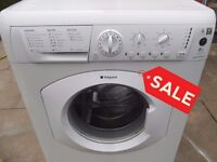 HOTPOINT 6KG WASHING MACHINE FULLY REFURBISHED COMES WITH 3 MONTHS WARRANTY
