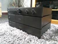 Rotel Pre Amp and 2 Power Amplifiers