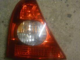 n/side rear light for renault clio mk 2