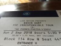3 x Kevin Hart Tickets