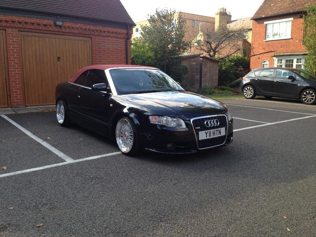 audi a4 1 8t cabriolet 2006 b7 s line limited edition in bedford bedfordshire gumtree. Black Bedroom Furniture Sets. Home Design Ideas