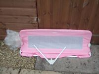 'Tomy' Universal Child's Bed Rail - Pink