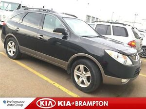 2010 Hyundai Veracruz LIMITED 'AS IS' LEATHER ROOF AWD DVD LOADE