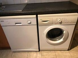 Dishwasher and washing machine