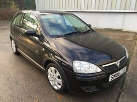 Stunning 2006 06 Vauxhall Corsa 1.2Sxi 3Dr **2 Owners+Only 80000+Mot July 2017+Mega Spec**