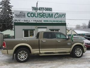 2015 Dodge Ram 1500 LONGHORN, ECO DIESEL, 4X4, LOADED, 42KM