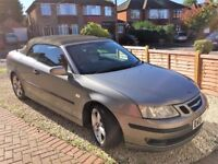 Superb condition 2005 Saab 93 Vector Convertible 2.0, owner emigrating hence £1500 ono