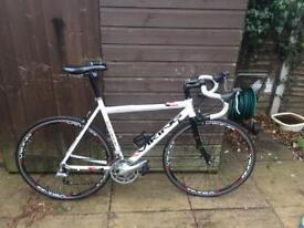 Viking torino road bike carbon forks and alloy frame brilliant condition bargaim