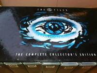 Complete x files dvd box set collectors edition