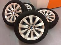Bmw 3 series winter wheels. Excellent Pirelli winter tyres.