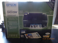 Epson Stylus SX515W High-Speed All-in-One Printer with Individual Inks and Wi-Fi