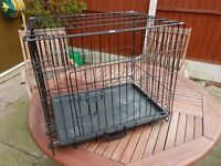 dog cage medium size, size 23 inch x 17 inch, new , bargain £20, can deliver in lpool
