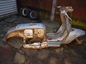 Lambretta silver 150 1964 project