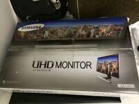 "New Samsung U28E590D 28"" 4K Ultra HD 1ms HDMI Displayport FreeSync Gaming LED Monitor"