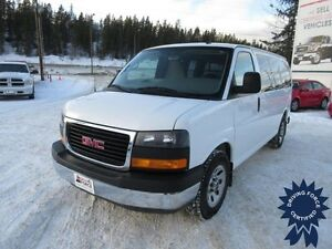 2013 GMC Savana SL 8 Passenger All Wheel Drive - 65,520 KMs