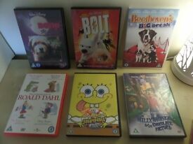 DVD bundles for children - Assorted/Saddle Club/Heartland TV series/Scooby-Doo - various prices