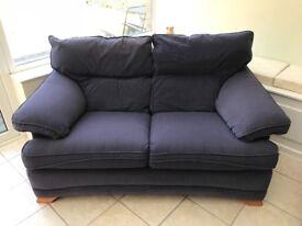 Two 2-seater sofas