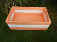 WOODEN TOYS STORAGE BOX WITH FEET