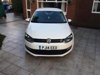 Volkswagen Polo 1.2 Match Edition (2014), Petrol, White, 42,000 Miles, Full Service History.