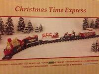 Christmas Time Express train set for going round Christmas tree