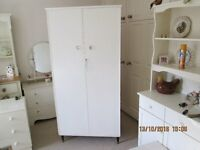 WARDROBE PAINTED LAURA ASHLEY COUNTRY WHITE