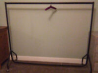 Clothes rail - heavy duty 6ft, very strong