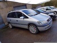 2002 Opel Zafira for sale.
