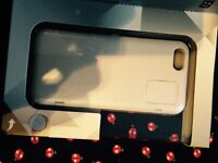 White iPhone case with built in mirror