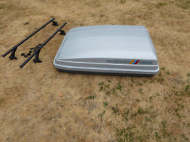 Thule Roof Box with Thule Bars