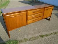 Lovely Retro Teak Sideboard Fully Restored Danish / G-Plan Influence Delivery Can Be Arranged