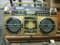 Lasonic 931 ghetto blaster boombox