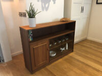Vintage Glazed Bookcase & Cupboard - Stateroom by Stonehill Furniture - N5