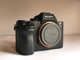 Sony A7ii 24mp- Boxed - UK model from Currys - Low use & low shutter - Great Price