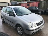 Volkswagen polo 1.4 low mileage 1 owner 45k service history bargain