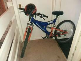 Irn bru mountain bike