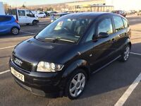 2003 AUDI A2 FSI SPORT / LONG MOT / FULL SERVICE HISTORY / DRIVES WELL / CARDS TAKEN / WE DELIVER