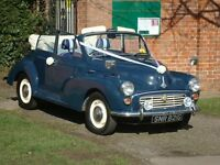 Morris Minor 1275cc convertible.
