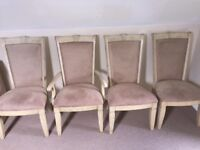 8 x dining room chairs