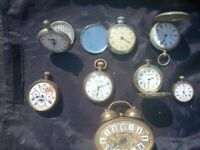 Pocket watches.